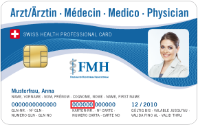 Swiss Health Professional Card